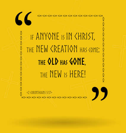 the scriptures: Best Bible quotes about how God changes us. Christian sayings for Bible study flashcards illustration