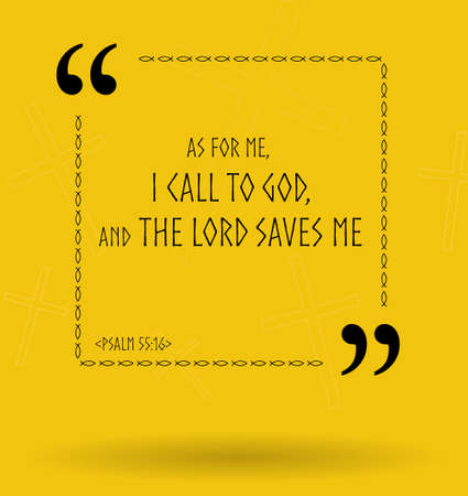 verses: Best Bible quotes about how God helps those who believe Him. Christian sayings for Bible study flashcards illustration