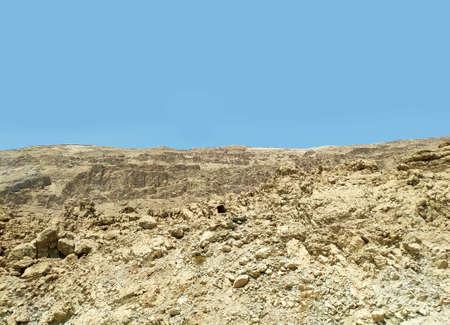 Desert rocks and hills background, Negev desert in Israel, nice touristic location