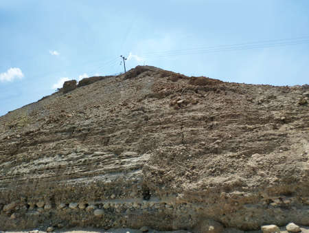 Mountains and rocks of the Negev desert in Israel