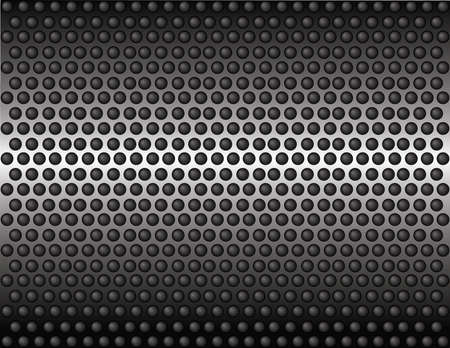 perforated  tube wallpaper Stock Vector - 20710110