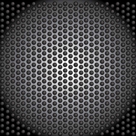 metal perforated     dark wallpaper Stock Vector - 20710111