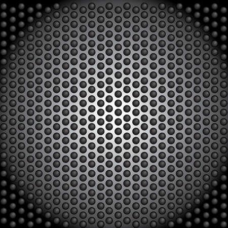 metal perforated     dark wallpaper Stock Vector - 20710111