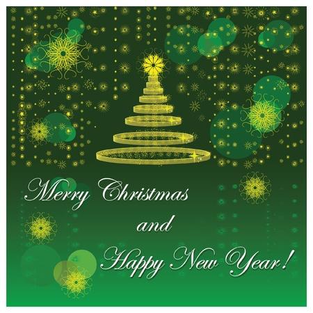 New Year's card Фото со стока - 88670359