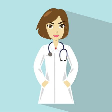 Illustration of doctor.