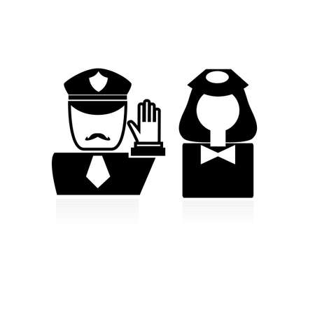 officer icon.