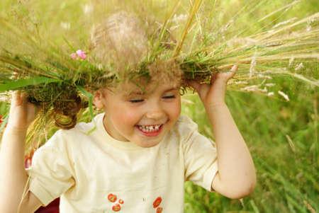undine: smiling undine Stock Photo