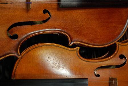 violins: Two violins