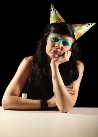 bummed: Birthday girl
