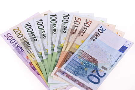 international bank account number: Money,Euro notes