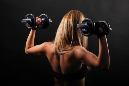 girl fitness: Fitness girl