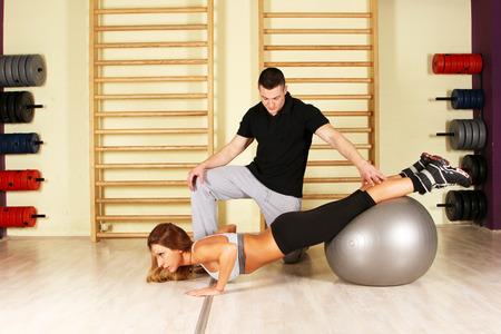 fitness training: