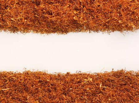 간단한 텍스트를위한 장소와 화이트, 담배 더미