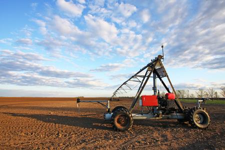 pivot: Irrigation pivot Stock Photo