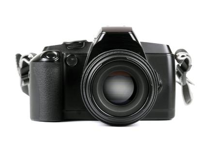 analog camera: Analog camera Stock Photo