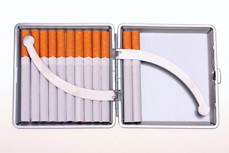 cigarette case: Luxury cigarette case