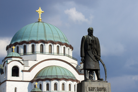 greatness: Temple of St. Sava ,located in Belgrade,capitol of Serbia