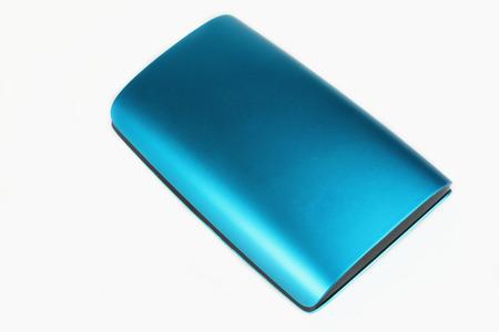 external: External hard drive