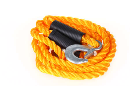 malfunction: Towing rope Stock Photo