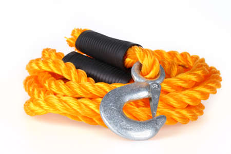 towing: Towing rope Stock Photo