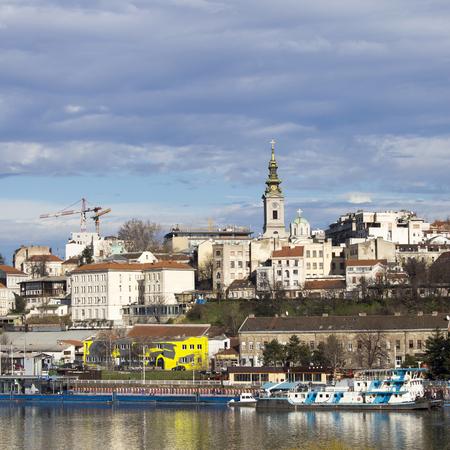 Panorama of Belgrade,Serbia Stock Photo