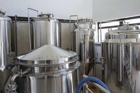 microbrewery: Small brewery,craft beer production