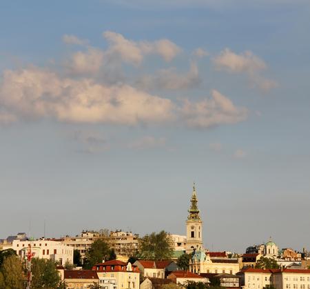 belgrade: Panorama of Belgrade,capitol of Serbia