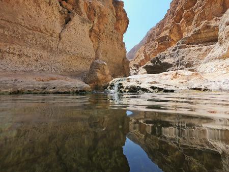 Beautiful nature in Wadi Shab,Oman
