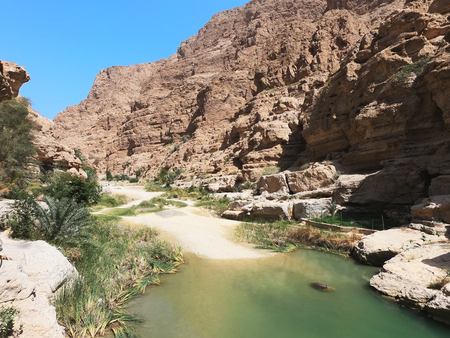 Landscape in Wadi Shab,Oman