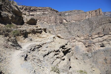 Jebel Shams,Al Hajar Mountains in Oman
