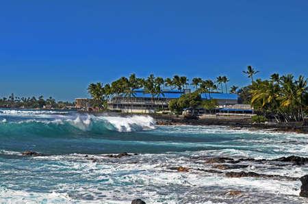 kona: Kona coast Stock Photo