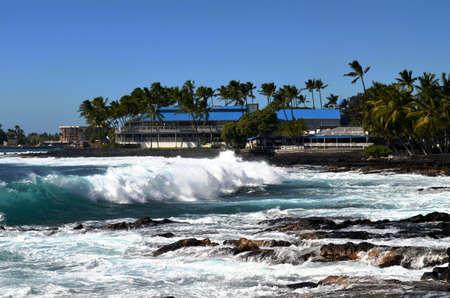 kona: Kona surf Stock Photo