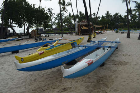rigger: Out rigger canoes