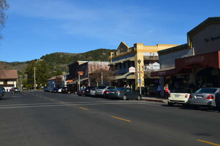 Sonoma California Stock Photo