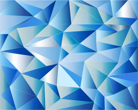icy: Blue icy background with geometric shapes Illustration