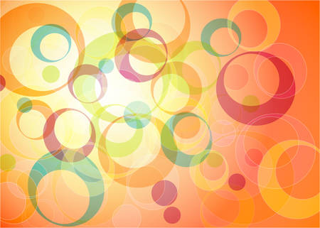 distraction: Abstrat colorful background with circles