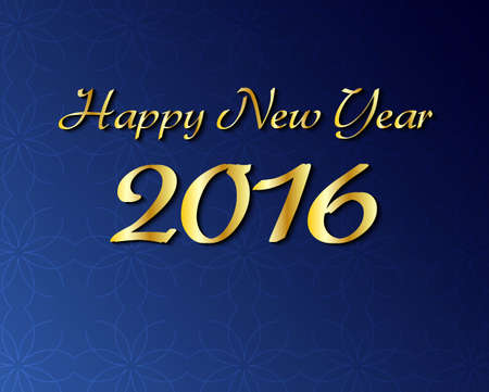 Happy New Year 2016 simple background