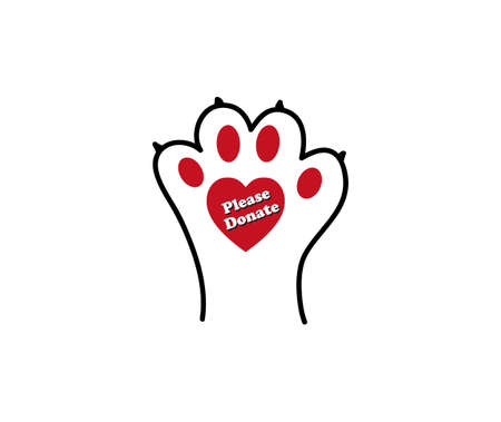 Animal lovers - please donate or adopt sign