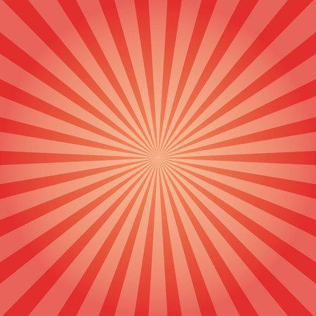 Sun rays  illustration