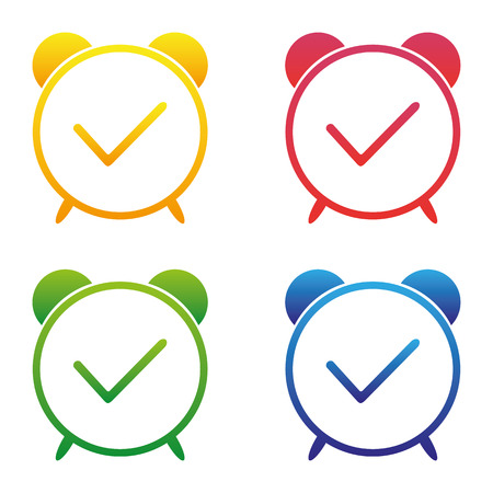 Vector - Clock time icon Vetores