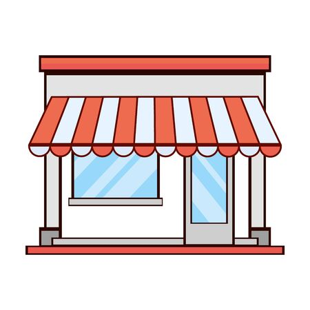 Business store icon, modern flat design. Vector icons on a white background.