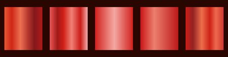 Red gradient collection for your design.Vector set of red gradients