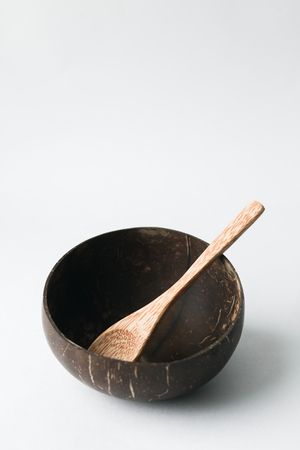 Coconut shell bowl , bowl made from coconut shell