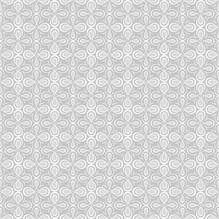 Geometric seamless pattern. Abstract neutral background. Grey monochrome seamless texture. 向量圖像