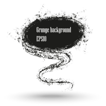 Charcoal texture grunge banner.
