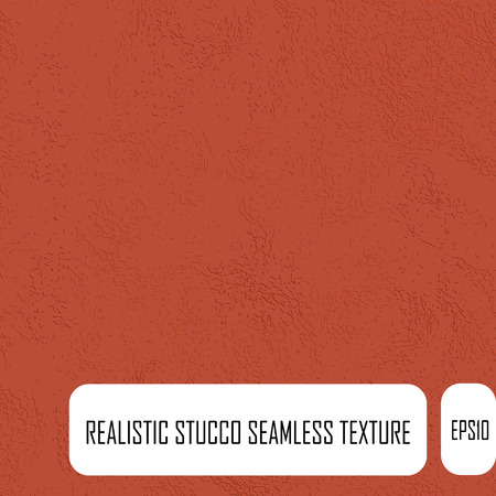 stucco: Bright red stucco seamless texture.  Realistic endless texture.