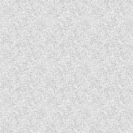 Ditsy noise abstract vector seamless texture. Tiny dots and strokes in balanced seamless halftone pattern. Grungy layout for adding roughness and messy look to design or illustration.