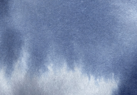 Heavy clouds watercolor washed texture. Hi-res gradient background. Standard-Bild - 107270202