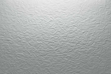 Abstract texture of bumpy surface. Pseudo plaster texture in gray colors. 3d illustration. Banco de Imagens