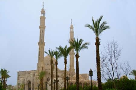 sacrosanct: Mustafa Mosque in Sharm el-Sheikh